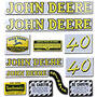 JD 40: Mylar Decal Set