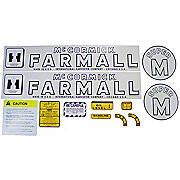 IH Super M 1952-54: Mylar Decal Set