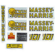 MH 101 Twin Power: Mylar Decal Set