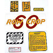 Oliver 60 Rowcrop: Mylar Decal Set