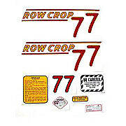 Oliver 77 Rowcrop: Mylar Decal Set