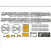 MC D W6 1939-44: Mylar Decal Set