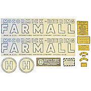 1939 - 1944 McCormick Deering H Vinyl Decal Set