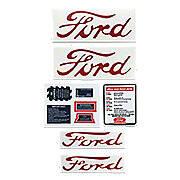 Ford NAA, Jubilee - 9 Piece Mylar Decal Set