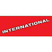 International Decal Vinyl Cut