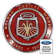Ford Jubilee Hood Emblem