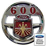 Ford 600 Hood Emblem