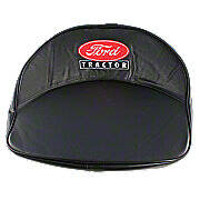 Ford Tractor Seat Cushion - Black, Red, White