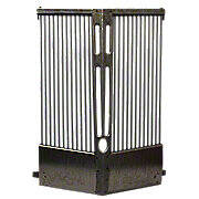 Round Bar Style Ford Grill: 8N