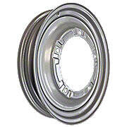 "3 X 19 Front Wheel With Large 9 5/8"" Pilot Hole (5 Bolt)"