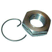 Rear Axle Nut and Snap Ring Kit