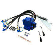 Double Spool Double Acting Hydraulic Remote Valve Kit