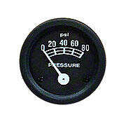 Oil Pressure Gauge (0-80 PSI)