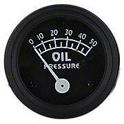 Oil Pressure Gauge (0-50 PSI)