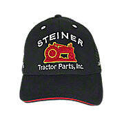Steiner Tractor Parts, Inc. Black Mesh Baseball Cap