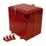 Battery Box With Lid -- Fits Farmall C, Super C, Super A -- Excellent Quality!