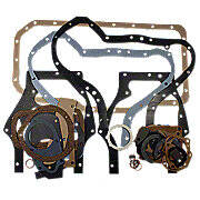 Lower end engine gasket set with seals