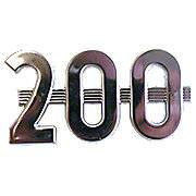 """Side Emblem """"200"""""""