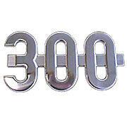 """Side Emblem """"300"""""""