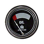 Oil Pressure Gauge (0-75 PSI) - Engine mounted