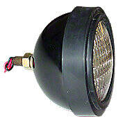 12 Volt Sealed Beam Universal Headlight Assembly -- Fits a wide variety of brands & models