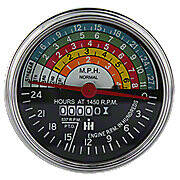 Tachometer  -- Fits Farmall 400, 450 & Serviceable For Others