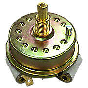 Combination light switch (for electric start with two headlights)