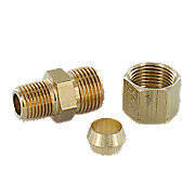 Connector For Fuel Lines, Oil Lines And Sediment Bowls With Female Fitting