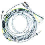 Headlight Wiring Harness Kit For 4 Light Flat Top Fenders