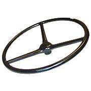 Massey Harris Steering Wheel With Covered Spokes