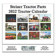 4th Annual Steiner Tractor Parts Calendar - 2018 Edition