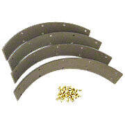 Brake Lining Kit With Rivets (Set Of 4)