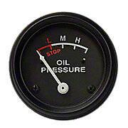 Oil Pressure Gauge (0-30 PSI) - Engine mounted