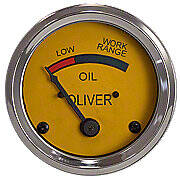 Oil Pressure Gauge (0-25 PSI) - Dash mounted