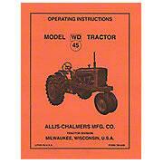 Operators Manual Reprint: AC WD45