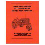 Operators Manual Reprint: AC WD
