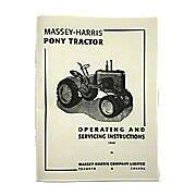 Operating & Service Instruction Manual: MH Pony