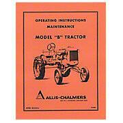 Operators Manual Reprint: AC B