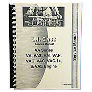 Service Manual Reprint: Case VA Series
