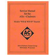 Service Manual: AC WD, WD45 Gas