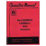 Operators Manual: Farmall 400