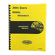 Operating Instruction Manual: Unstyled JD A