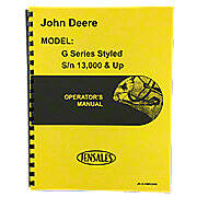 Styled JD G Operators Manual