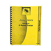 Parts Manual Styled JD D