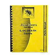 Parts Manual JD G