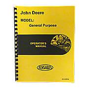 Operator Manual JD GP, GPO