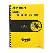 Parts Manual JD H
