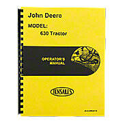 Operator Manual:  JD 630