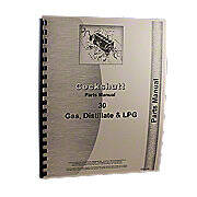 Cockshutt 30, Co-Op E3, Gas. Kerosene, Lp, Parts Manual