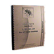 Case D w/o Eagle Hitch, DC w/o Eagle Hitch, DO w/o Eagle Hitch, DV w/o Eagle Hitch, Parts Manual